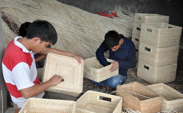 rattan and bamboo handicraft village