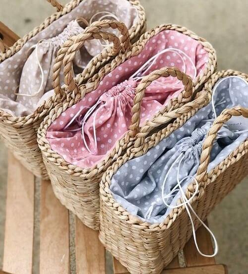 3 mẫu túi cói tạo nên set đồ đẹp