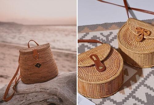 5 kiểu túi cói đi biển tiện dụng