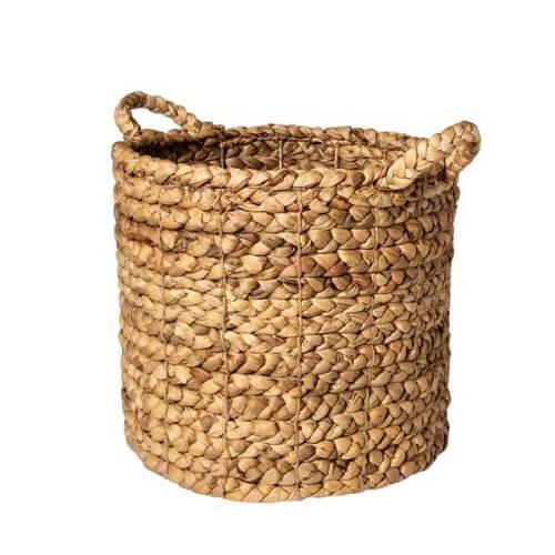 giỏ trồng cây đan lục bình;