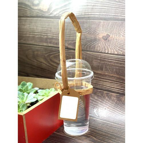 quai xách lục bình ly nhựa;
